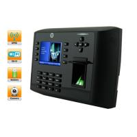 Buy cheap HD Camera German / Russian Biometric Wireless Online Time Clock with 3.5 TFT LCD Display from wholesalers