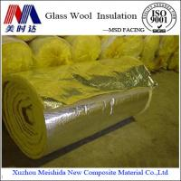 Buy cheap Glass Wool Insulation Blanket Alu Foil from wholesalers
