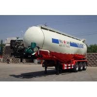 Buy cheap Carbon Steel Stable Cement Bulk , Bulk Tank Truck With 3 Axles For Fly Ash from wholesalers