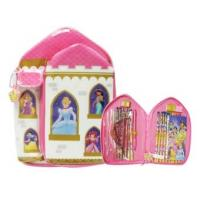 Buy cheap Disney Princess Pink PVC Stationery Bag In Castle Type from wholesalers