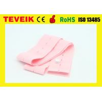 Buy cheap Disposable Pink CTG Fetal Monitor Belts with Buttonhole 5.3cm x 120cm , CFDA Approved from wholesalers
