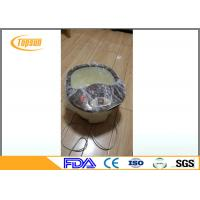 Buy cheap Transparent / Blue PE Pedicure SPA Disposable Liners , Pedicure Bowl Liners from wholesalers
