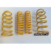 Buy cheap Auto 4x4 Suspension Lift Kits High Tension Coil Springs Toyota Parts Front And Rear from wholesalers