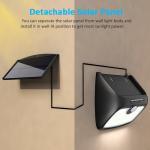 Buy cheap Separable 48 LEDs Solar Panel PIR Motion Sensor Lamp for Garden Yard Outdoor & Indoor Emergency Night Light from wholesalers