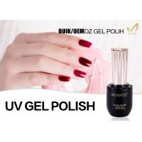 10ml 15ml 30ml UV LED Gel Nail Polish For Uv Light Eco Friendly Sample Provided