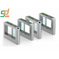 Buy cheap RFID Card Reader Swing Barrier Gate, Glass Gates Access Control Turnstile from wholesalers
