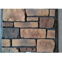Buy cheap Classical Style Wateproof Faux Exterior Stone , Faux Veneer Stone Panels For Home Building from wholesalers