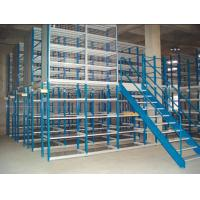 Buy cheap Multi - tier mezzanine racking system(2-3 floor) 150- 500KG per level capacity from wholesalers