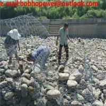 Buy cheap 80*100mm/100*120mm galvanized Rock gabion Basket /Gabion Wire Mesh for retaining wall/gabion fence/gabion box from wholesalers