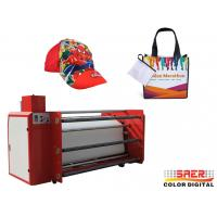 Buy cheap 1.6m Wide Roller Type Sublimation Printing Machine 600mm Roll Diameter from wholesalers