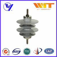 9KV Gapless Metal Oxide Surge Arrester Polymer Self - Standing with KEMA Certified