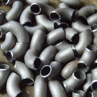 Buy cheap 90 Degree Butt Weld Seamless Carbon Steel Elbow ASTM A234 WPB B16.9 / 16.25 / 16.49 carbon steel pipe fittings from wholesalers