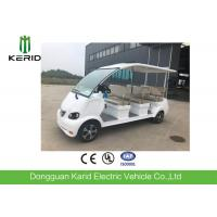 Buy cheap Mini Bus 8 Seater Electric  Sightseeing Car With CE Certification For Hotel Reception from wholesalers