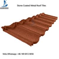 Buy cheap Bond Tile GL Stone Coated Aluminum Roofing Sheet 0.4mm Thickness ISO9001 / CE / Soncap  Stone Coated Aluminum Roofing Sh from wholesalers