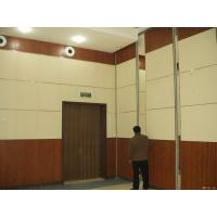 Buy cheap Folding Movable Wooden Sliding Partition Walls / Hanging Room Dividers Auditorium Ceiling Materials from wholesalers