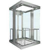Buy cheap Square Observation Elevator , Fuji VVVF AC Drive Glass Sightseeing Elevator from wholesalers