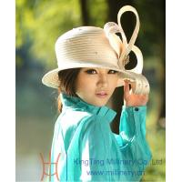 Buy cheap Beret Satin Braid Ladies' Church Hats / womens easter hats for dress from wholesalers
