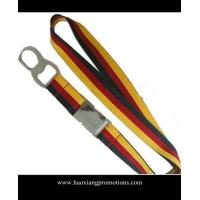 Buy cheap High Quality Custom silk-screen printing mix colorful Woven Polyester Lanyard from wholesalers