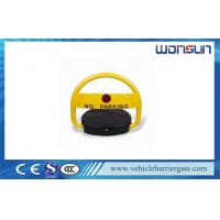 Buy cheap Solar Battery Powered Remote Control Intelligent Automatic Parking Lock from wholesalers