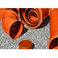 Buy cheap Anti - Aging Upvc Plumbing Pipes , High Water Flow Upvc 110mm Pipe For Agriculture from wholesalers