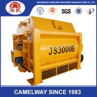 Buy cheap High Technology Twin Shaft JS3000 Stationary Concrete Mixer 3000L Concrete Mixer product