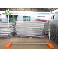 Buy cheap 6ft × 12ft Chain Link Temporary Fence Panels , Mobile Construction Fence Panels from wholesalers