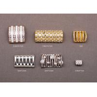Buy cheap Customized Rectangle Brass Zinc Alloy Rhinestone Belt Buckles for Women from wholesalers