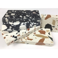 Buy cheap Quartz Marble Cement 18mm Terrazzo Slab 3200*1600mm from wholesalers