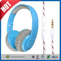 Buy cheap PC MP3 MP4 Leather ear cups Stereo Gaming Headphone or Earphone With In-line Mic from wholesalers