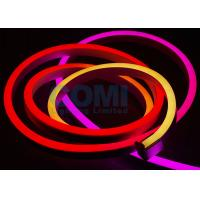 Buy cheap 24V 5050 RGB Addressable DMX Neon LED Strip Lights 8 pixels / Meter IP68 Waterproof from wholesalers