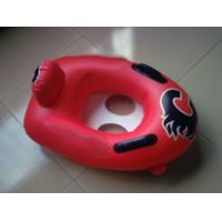 Buy cheap Summer hot sell custom printing and size of red color kiddie inflatable bumper boat from wholesalers