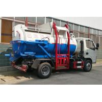 Buy cheap Leakage Proof Waste Removal Trucks For Garbage Collection And Transportation product