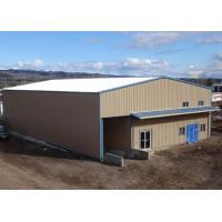 Buy cheap Small Processing Prefab Steel Structure Building Workshop Shed With Office Building from wholesalers