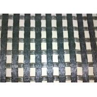 China Geogrid Reinforcing Fabric HIgh Strength Polyester Warp Knitted Geogrid on sale