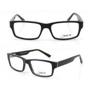 Buy cheap Rectangle Retro Hand Made Acetate Optical Frames for Unisex , 54-17-140mm product