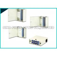 Buy cheap LC Duplex Optical Fiber Distribution Box Metal Drawer Style 420×425×100 from wholesalers