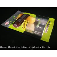 Buy cheap Dried Fruit Plastic Packaging Bags / Banana Chips Laminated Pouches QS Approval from wholesalers