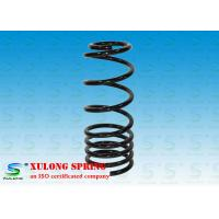 Buy cheap Black Alloy Steel Pigtail Rear Suspension Coil Springs For Cars / Racing product