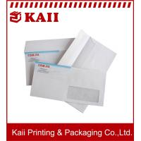 Buy cheap CMYK Color Brown / White DL Paper Envelope, C4 / C5 / C6 Paper Envelope /  Craft Paper Envelopes from wholesalers