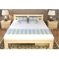 Buy cheap Queen Size Solid Pine Wood Box Frame Bed , Solid Wood Storage Bed With Drawers from wholesalers