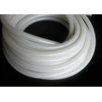 Buy cheap Polyester Braid Silicone Rubber Tubing , Flexible Silicone Hose Food Grade Without Smell from wholesalers