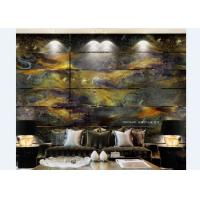 Buy cheap Unique Modern Decorative Glass Wall Art Panels Foe Living Room / Home Decor from wholesalers