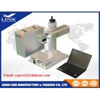 Buy cheap Metal 20W 30W 50W Raycus Cnc Portable Fiber Laser Marking Machine CE Approval from Wholesalers