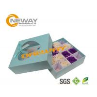 Buy cheap Ivory Board Flower Paper Box with Clear Window / Retail Gift Boxes from wholesalers