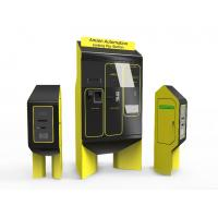 Buy cheap Acrylic panel modern design ticket dispensor for parking management system from wholesalers