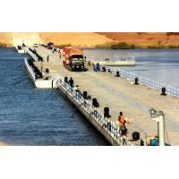 Buy cheap Heavy Loading Capacity Floating Water Bridge With Single Pontoon from wholesalers