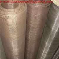 Buy cheap High Temperature Resistance 20 40 60 80 100 150 200 Mesh 310S /FeCrAl Alloy/Nichrome Cr20Ni80 wire mesh from wholesalers