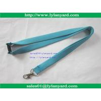 Buy cheap Imprinted Silk Screen Custom Lanyard, Tube lanyard, Hollow Lanyard from wholesalers