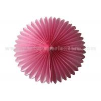 Buy cheap Colorful Petal shaped Round Tissue Paper Honeycomb Ball Decoration Customized from Wholesalers