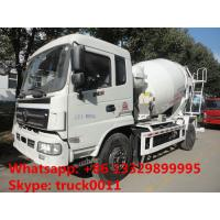 Buy cheap best quality factory sale 6*4 Dongfeng 5- cubic meters concrete mixer truck, dongfeng 6m3 concrete mixer truck from wholesalers